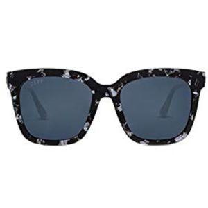 DIFF black and white tortoise shell sunglasses